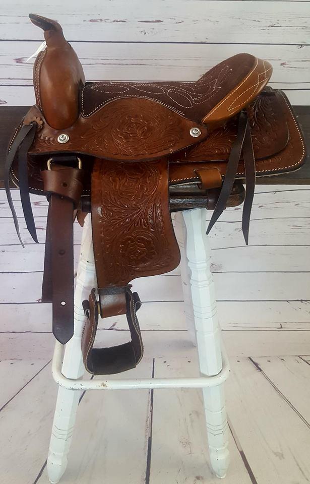 Heart Of Texas Saddle-12″ – Tack and Trade Company