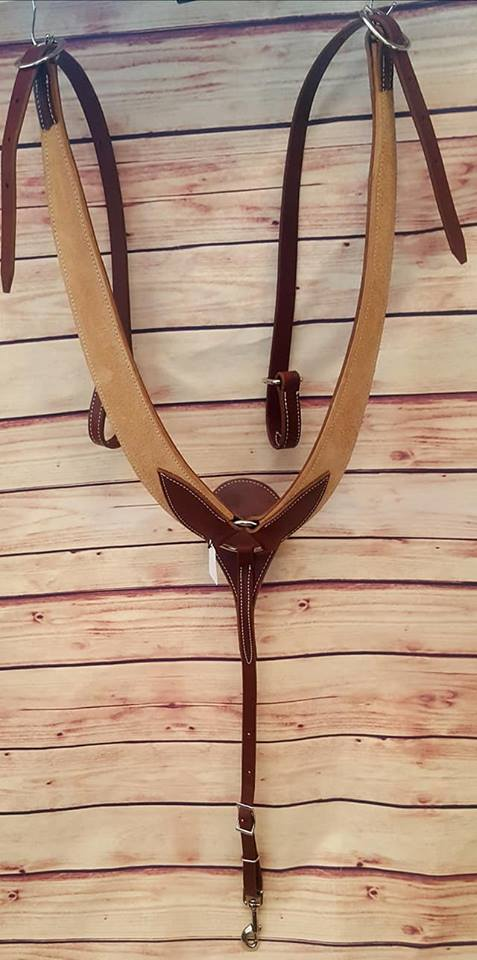 Billy Cook #12958 Rough-out Leather Pulling Collar – Tack