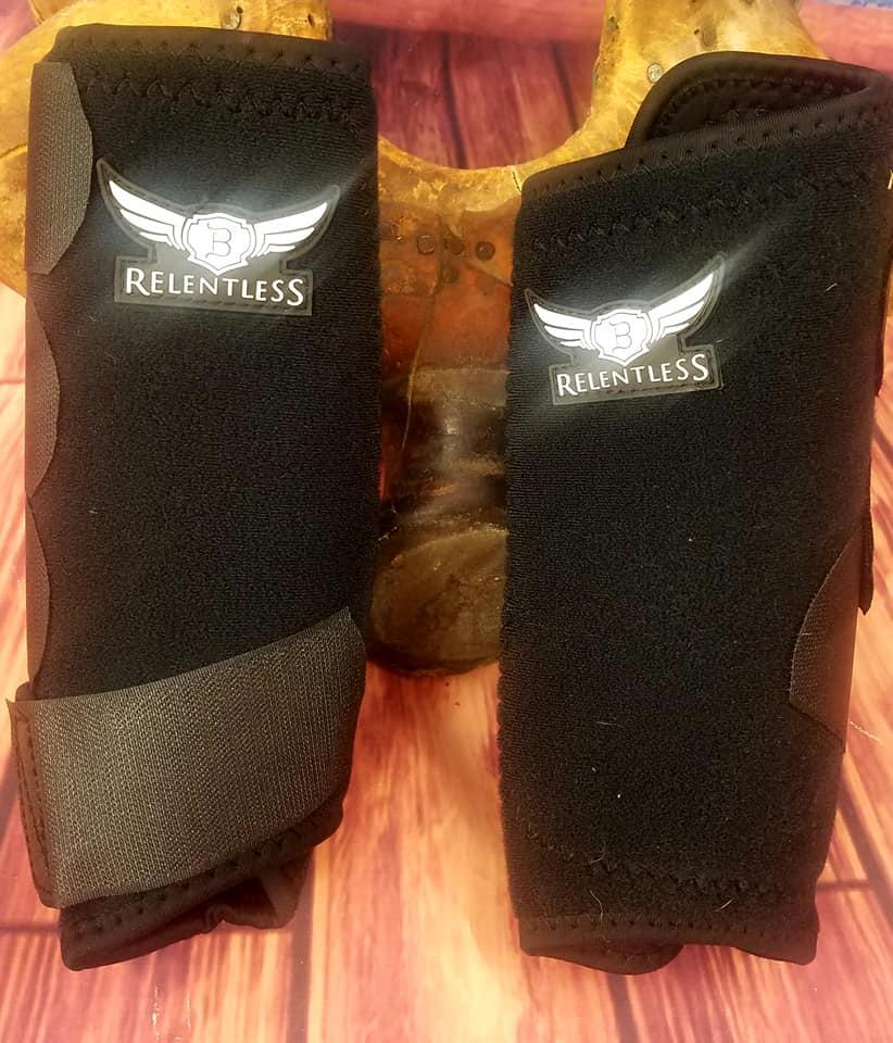 fba137c20f7fe Relentless All Around Front Sport Boots-MEDIUM