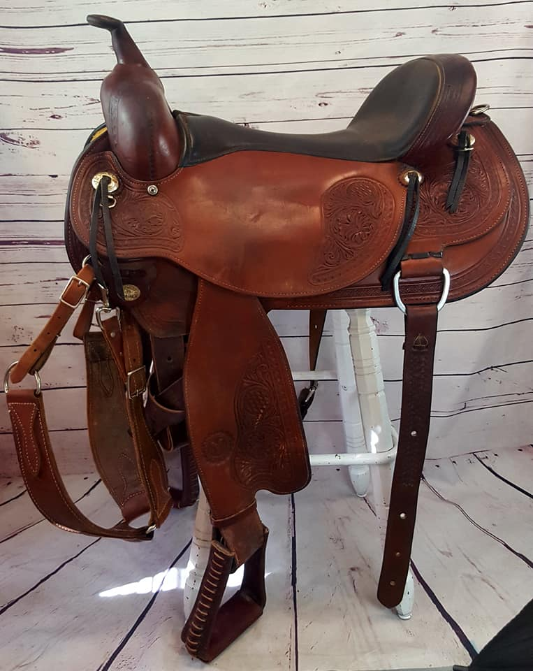 Corriente Trophy Saddle #44064 – Tack and Trade Company