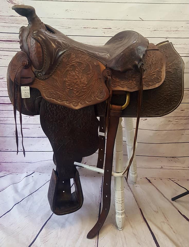 Western 15″ Saddle – Tack and Trade Company