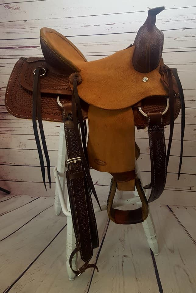 Heart Of Texas Ranch Saddle