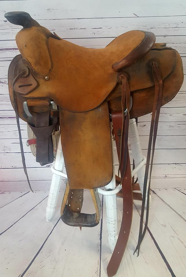 Heart Of Texas Ranch Saddle – Tack and Trade Company