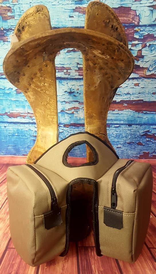 Saddle Barn Leather Saddle Bag – Tack and Trade Company