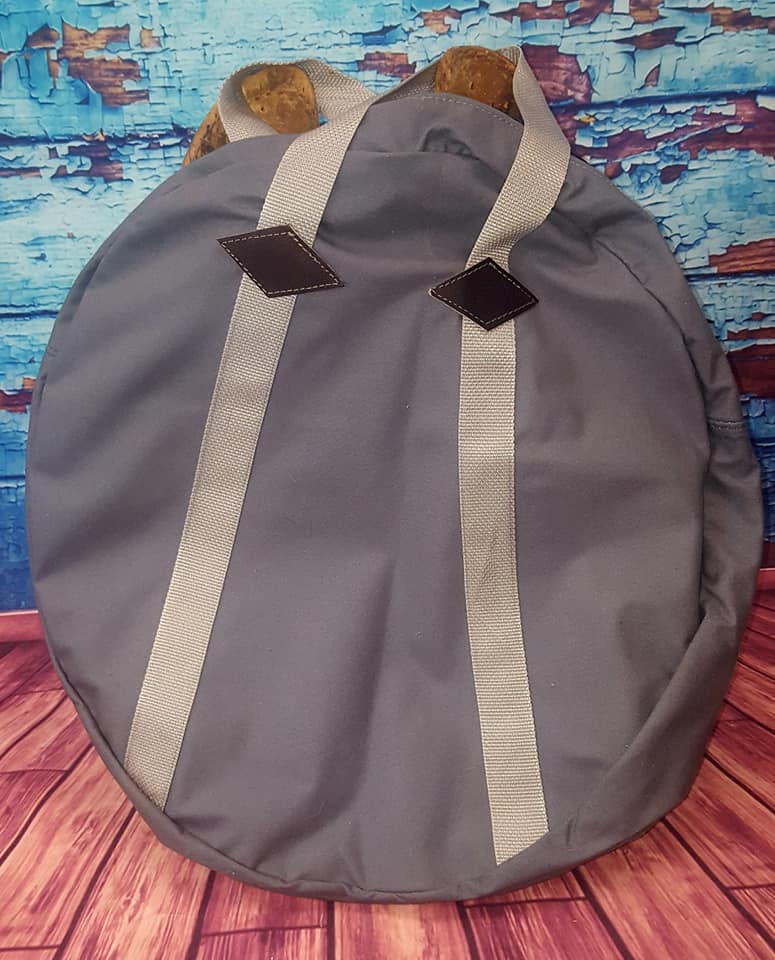 Buck A Roo Roping Bags Grey Tack And